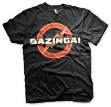 Teorie velkého třesku pánské tričko Bazinga Underground Logo