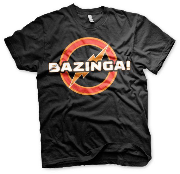 Stylové pánské tričko The Big Bang Theory Bazinga Underground Logo