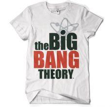 Teorie velkého třesku pánské tričko Logo
