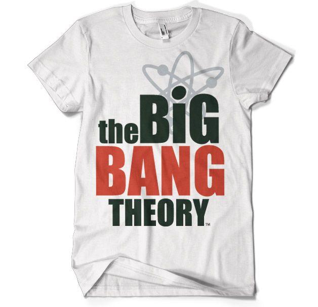 Stylové pánské tričko The Big Bang Theory Logo
