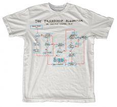 Teorie velkého třesku pánské tričko The Friendship Algorithm