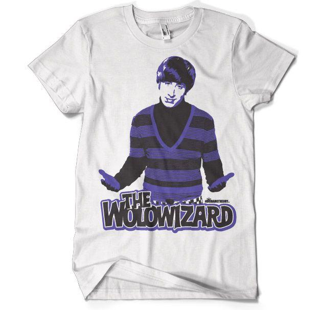 Stylové pánské tričko The Big Bang Theory The Wolowizard L
