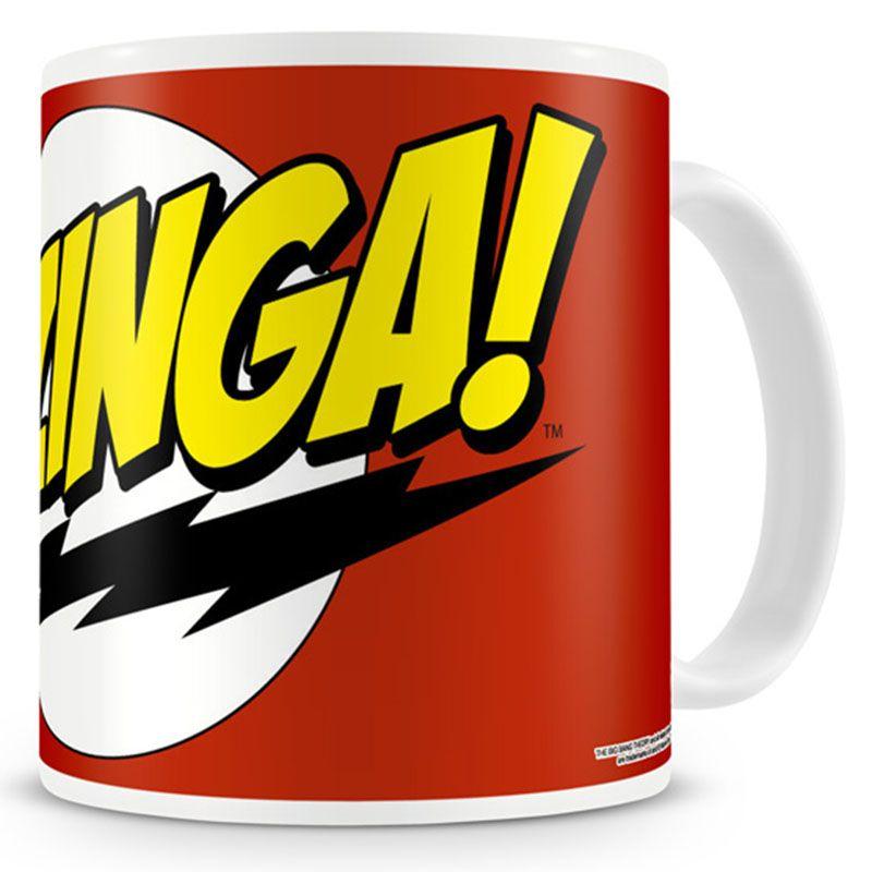 Teorie velkého třesku hrnek na kávu Bazinga