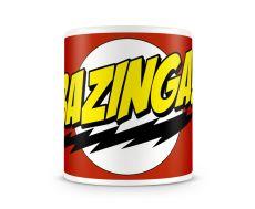 Teorie velkého třesku hrnek na kávu Bazinga Licenced