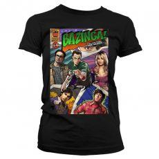 Dámské tričko Teorie velkého třesku Bazinga Comic Cover
