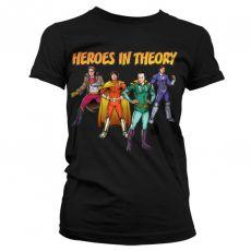 Dámské triko Teorie velkého třesku Heroes In Theory