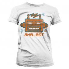 Dámské tričko Teorie velkého třesku Shel-Bot