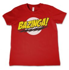 Dětské tričko Teorie Velkého Třesku Bazinga Super Logo