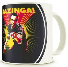 Hrnek Teorie velkého třesku Sheldon Says BAZINGA!