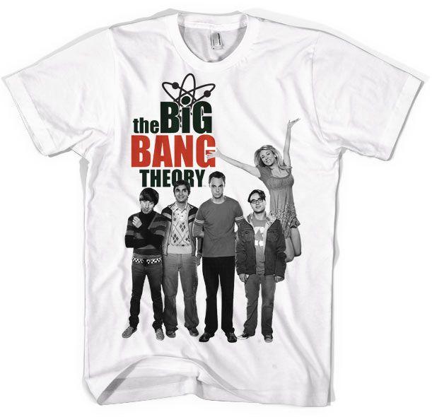 The Big bang Theory pánské tričko s potiskem Cast