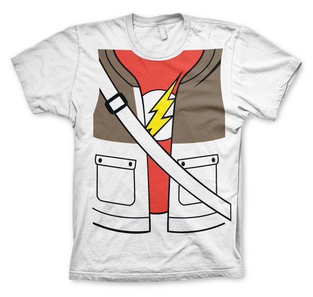 The Big bang Theory pánské tričko s potiskem Sheldons Suit