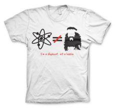Pánské tričko Teorie velkého třesku I´m A Physicist, Not A Hippie