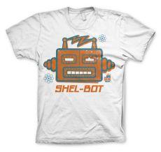 Pánské tričko Teorie velkého třesku Shel-Bot