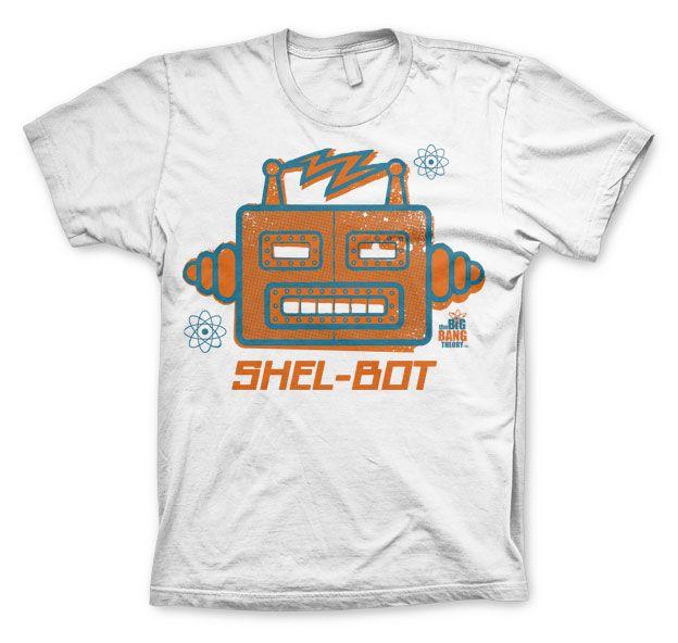 The Big bang Theory stylové pánské tričko Shel-Bot