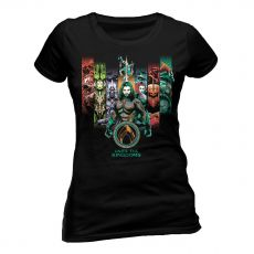 Aquaman Movie Dámské Tričko Unite The Kingdoms Velikost S
