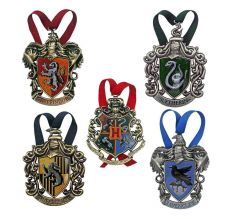 Harry Potter Tree Ornaments Bradavice 5-Pack