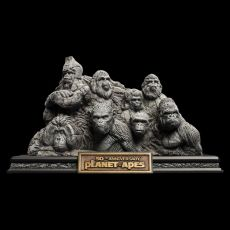 Planet of the Apes Soška Apes Through the Ages 29 cm