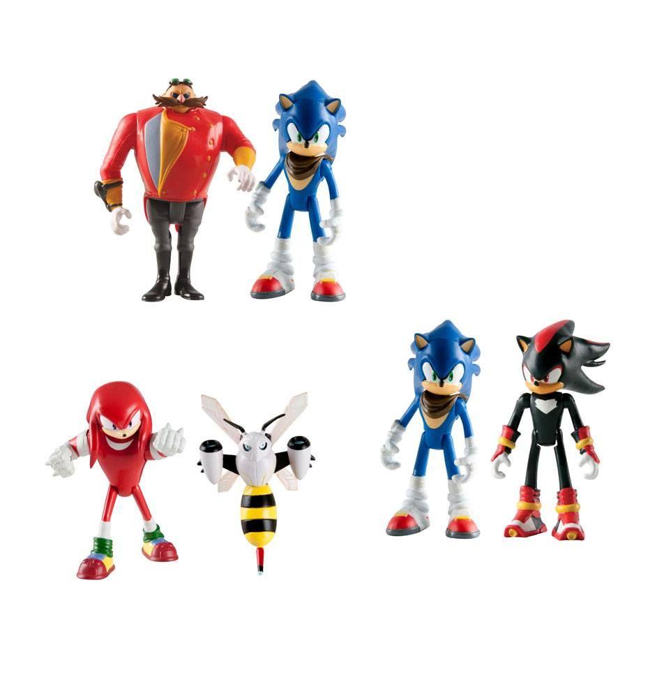Sonic Boom Akční Figures 8 cm 2-Packs Sada A7 (6) Tomy