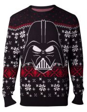 Star Wars Knitted Christmas Mikina Darth Vader Velikost XL