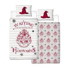 Harry Potter Povlečení Set Reversible Letters 135 x 200 cm / 48 x 74 cm