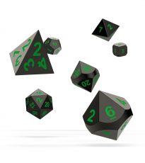 Oakie Doakie Dice RPG Set Metal Dice - Matrix (7)
