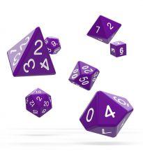 Oakie Doakie Dice RPG Set Solid - Purple (7)