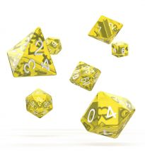 Oakie Doakie Dice RPG Set Translucent - Yellow (7)