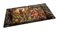 Warhammer Age of Sigmar: Champions Herní Podložka Chaos vs. Destruction 64 x 35 cm