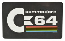 Commodore 64 Cutting Board Logo