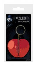 Death Note Gumový Keychain Apple 6 cm