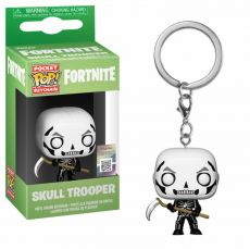 Fortnite Pocket POP! vinylová Keychain Skull Trooper 4 cm