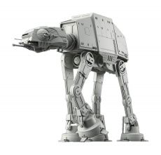 Star Wars Plastic Model Kit 1/144 AT-AT