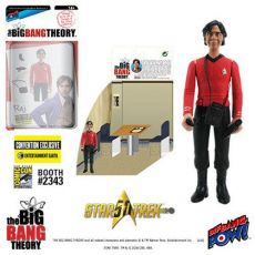 The Big Bang Theory Akční Figures with Diorama Set Raj TOS EE Exclusive 10 cm