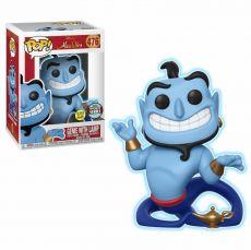 Aladdin POP! Disney Vinyl Figure Speciality Series Genie with Lampa GITD 9 cm