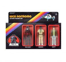 Alien ReAction Akční Figure 3-Pack Pack B 10 cm