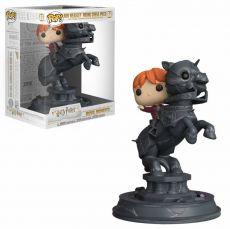 Harry Potter POP! Movie Moments vinylová Figure Ron Riding Šachy Piece 21 cm