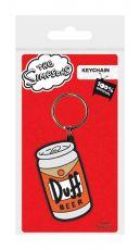 Simpsonovi Gumový Keychain Duff 6 cm