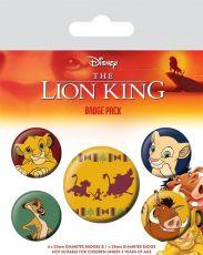The Lion King Pin Placky 5-Pack Hakuna Matata