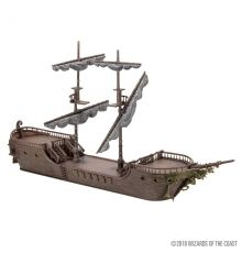 Dungeons & Dragons Icons of the Realm Miniature The Falling Star Sailing Ship