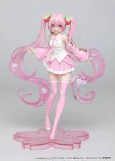 Vocaloid PVC Soška Hatsune Miku Sakura Miku 18 cm