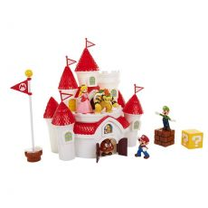 World of Nintendo Deluxe Herní sada Super Mario Mushroom Kingdom Castle