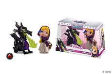 Disney Metalfigs Kov. Mini Figures 2-Pack Maleficent & Briar Rose 10 cm