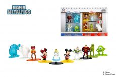 Disney Nano Metalfigs Kov. Mini Figures 10-Pack Wave 1 4 cm
