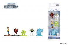 Disney Nano Metalfigs Kov. Mini Figures 5-Pack Disney Pixar 4 cm
