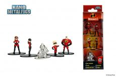 Disney Nano Metalfigs Kov. Mini Figures 5-Pack Incredibles 2 4 cm
