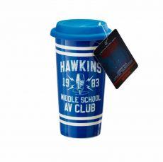 Stranger Things Cestovní Hrnek Hawkins AV Club