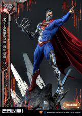 DC Comics Sochy 1/3 Cyborg Superman & Cyborg Superman Exclusive 93 cm Sada (3)