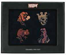 Hellboy Pin Placky 4-Pack