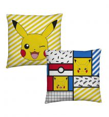 Pokemon Polštářek Pikachu Memphis 40 x 40 cm