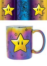 Super Mario Metallic Hrnek Star Power